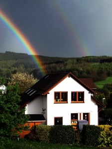 CIMG9214 Regenbogen über Netphen-Grissenbach am 6.5.2015 - Kopie